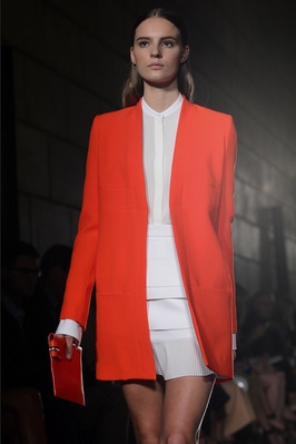 Fashion Week New York 2012: Victoria Beckham; Rechte: AFP/Dunand