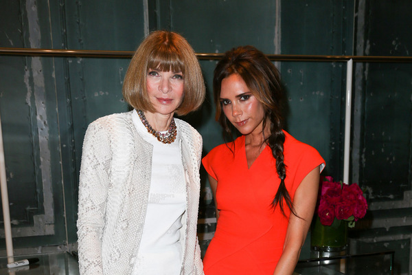 Fashion Week New York 2012: Victoria Beckham; Rechte: dapd/Andrew Toth