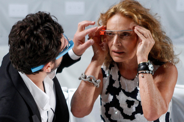 Fashion Week New York 2012: Diane von F�rstenberg; Rechte: REUTERS/Allegri