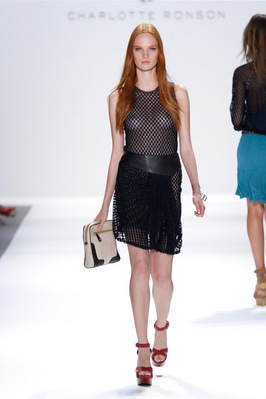 Fashion Week New York 2012: Charlotte Ronson; Rechte: dapd/Lecca