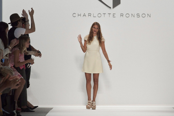 Fashion Week New York 2012: Charlotte Ronson; Rechte: REUTERS/Burton