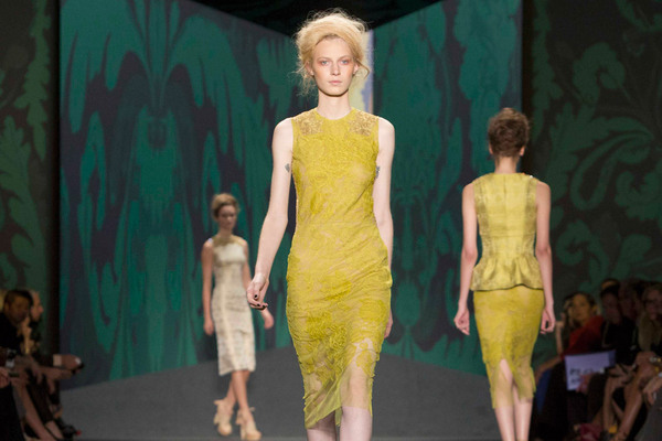 Fashion Week New York 2012: Vera Wang; Rechte: REUTERS/Kelly
