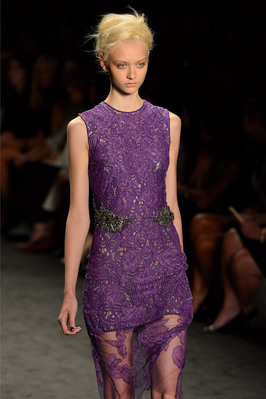 Fashion Week New York 2012: Vera Wang; Rechte: AFP/Emmanuel Dunand