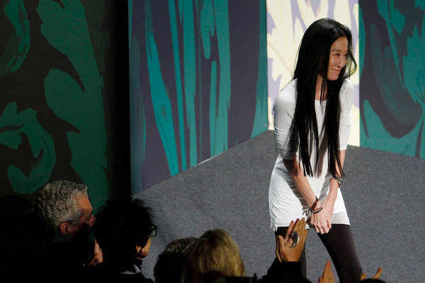 Fashion Week New York 2012: Vera Wang; Rechte: REUTERS/Carlo Allegri