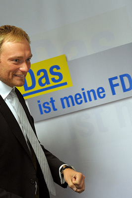 FDP- Parteivorsitzender Christain Lindner; Rechte: picture alliance / dpa