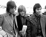 Mick Jagger, Brian Jones und Charlie Watts; Rechte: dpa