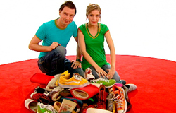 Tanja Mairhofer und André Gatzke aus der 'Sendung mit dem Elefanten'.; Rechte: wdr