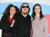  Zucchero mit Luciana Caglioti, Claudia D'Avino und Cristiano Cruciani.; Mariantonietta Bellia