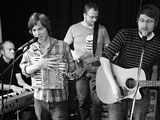 Die Band Bergen; Privat/Ilse M�nz