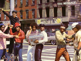 "Cover: ""The Message - Grandmaster Flash and the Furious Five ; Sugar Hill Records"