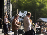 Sziget 2012 - Amsterdam Klezmer Band; WDR / Derstappen
