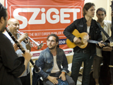 Sziget 2012 - Sndrg; Mario Derstappen / WDR
