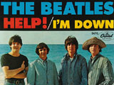 Cover der Beatles-Single Help; Capitol