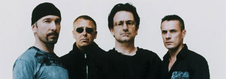 Gruppenfoto von U2; Universal