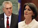 Tomislav Nikoli&amp;#263; i Atifete Jahjaga: mo&amp;#382;da uskoro za pregovara&amp;#269;kim stolom?; Rechte: WDR/Mike Segar/Valdrin Xhemaj
