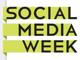 Logo der Social Media Week; Social Media Week