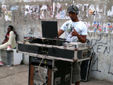 Soundsystem in Trenchtown; Ellen K�hlings