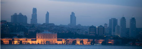 Skyline von Istanbul; picture-alliance / Rainer Hackenberg