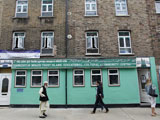 Eine Moschee in Shoreditch (Stadteil Londons); picture-alliance/Godong