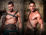 zwei Darsteller der Serie Spartacus; Starz Entertainment, LLC