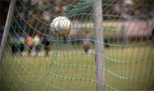 Ball fliegt ins Netz.; Rechte: WDR