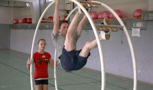 Johannes beim Training; Rechte: WDR