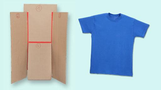 T-Shirt Faltmaschine; Rechte: WDR 2013