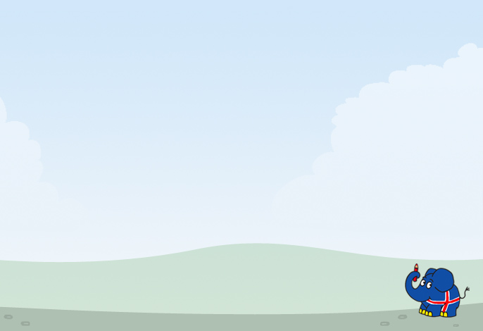 Island �bersicht Hintergrundbild; Rechte: