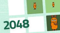 Text: 2048 - Bild: Ausschnitt aus dem Maus-Spiel 2048; Rechte: WDR