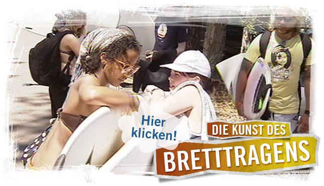 Surfer tragen ihre Surfbretter; Rechte: WDR 2012