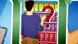 Anleitung: Kondomkauf - Auswahl; Rechte: WDR 2012