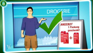 Anleitung: Kondomkauf - Drogerie; Rechte: WDR 2012