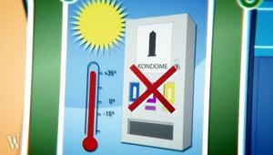 Anleitung: Kondomkauf - Automat; Rechte: WDR 2012
