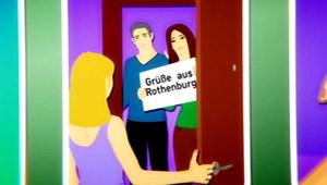 Comicbild: Erste Periode 1, Besuch aus Rothenburg; Rechte: WDR