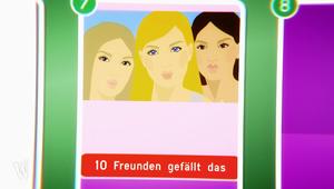Zeichnung: Fotopost mit der Angabe, dass zehn Freunde das Bild liken.; Rechte: WDR