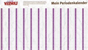Periodenkalender im Werwolf-Design; Rechte: WDR 2013