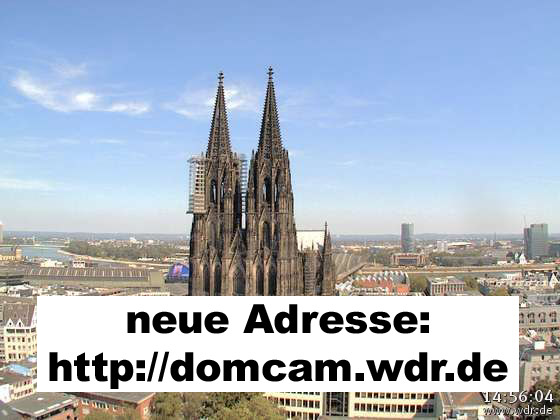 Kölner Dom Webcam