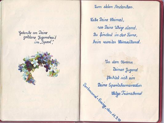 Poesiealbum Sprueche