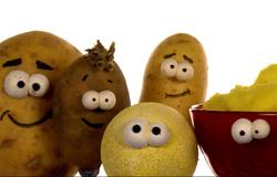 Kartoffeln aus der 'Sendung mit dem Elefanten'.; Rechte: WDR