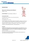 Nähanleitung rosa Hase aus der 'Sendung mit dem Elefanten'; Rechte: WDR