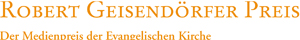 Logo Geisendörfer Preis; Rechte: Geisendörfer Preis