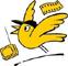 Logo Goldener Spatz; Rechte: Goldener Spatz