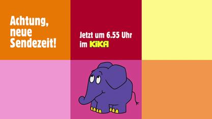 Sendung mit dem Elefanten, Vorschulsendung, Kinder, Hase, Elefant,KiKA, Vorschulkinder, Neue Sendezeiten; Rechte: WDR