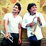 Cover: Boban und Marko Markovic mit Trompeten; Piranha