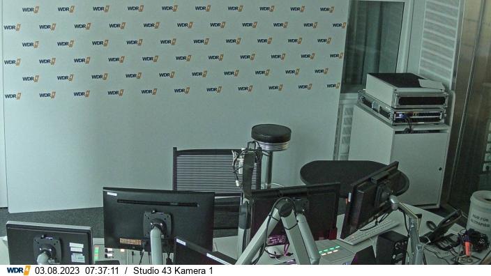 Studio WDR-4 - Live-Cam Moderation  -   (c)  www.wdr4.de